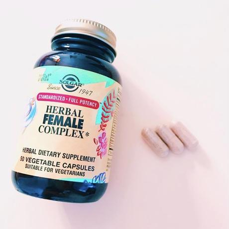 【女性ホルモンサプリ】SOLGAR  HERBAL FEMALE COMPLEX