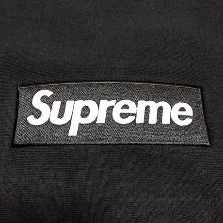 Supreme Box Logo Crewneck Sweatshirt Black M 18AW 【新品】