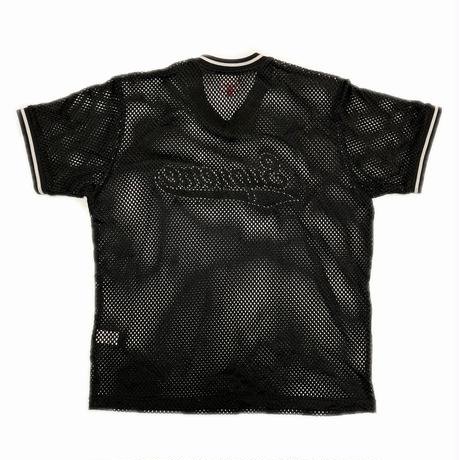 Supreme Mesh Baseball Top Black M 18SS 【中古】