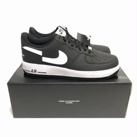 Supreme COMME des GARCONS SHIRT NIKE AIR FORCE 1 LOW 27.5cm 18AW 【新品】