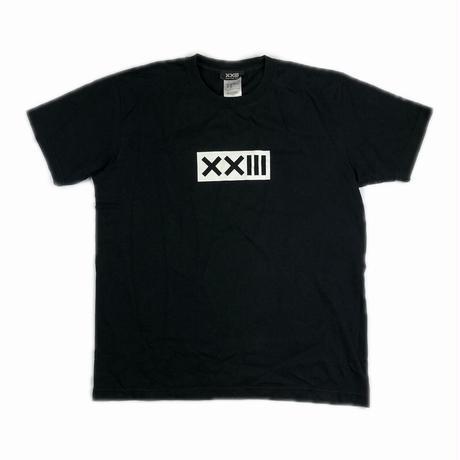 XXIII C'est Vingt-Trois セバントゥア LOGO TEE BLACK L【中古】