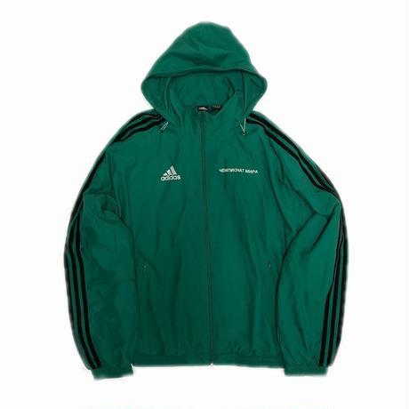 Gosha Rubchinskiy adidas Track Jacket Green S 18AW 【中古】