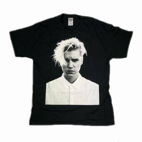JUSTIN BIEBER PURPOSE TOUR PHOTO TEE L 【中古】