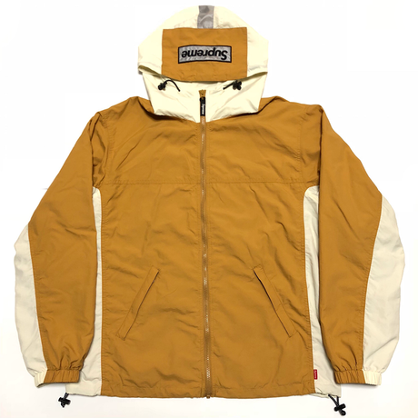 Supreme 2-Tone Zip Up Jacket Gold M 18AW 【中古】