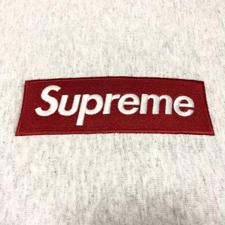 Supreme Box Logo Crewneck Sweatshirt Ash Grey M 18AW 【新品】