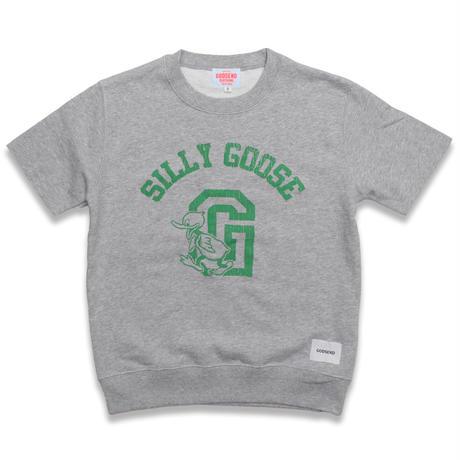 SILLY  GOOSE  CUTOFF  SWEAT  SHIRT  GREY  シリーグース  カットオフスウェットシャツ  グレー