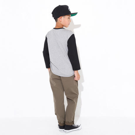 ATHLETIC  TAPERED  PANTS  ブラック