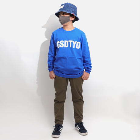 GSDTYO  L/S TEE  ROYAL  BLUE GSDTYO  ロングスリーブTEE  ロイヤルブルー