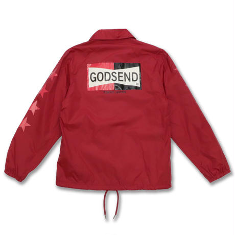FOUR  STAR  COACH  JACKET  フォースター  コーチジャケット  RED