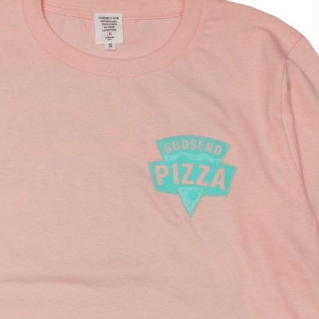 PIZZA  L/S TEE ピザ  ロンTEE  ピンク