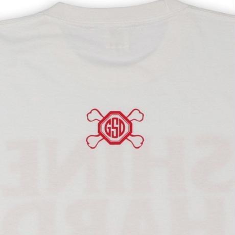 SHINE  HARD  TEE  シャインハード  Tシャツ  ホワイト
