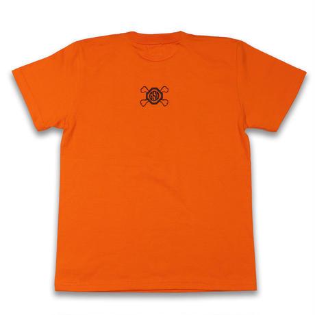 SHINE  HARD  TEE  シャインハード  Tシャツ  オレンジ