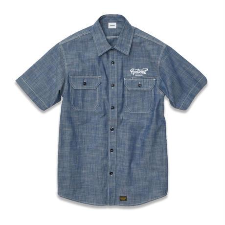 T/C  CHAMBRAY  WORK  SHIRTS  T/C  シャンブレーワークシャツ