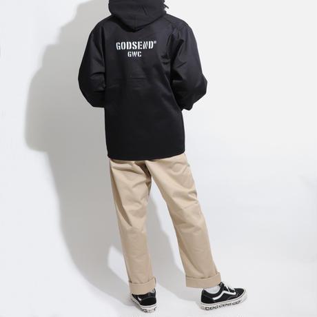 T/C    COVERALL  JACKET BLACK  T/Cカバーオール  ジャケット  ブラック