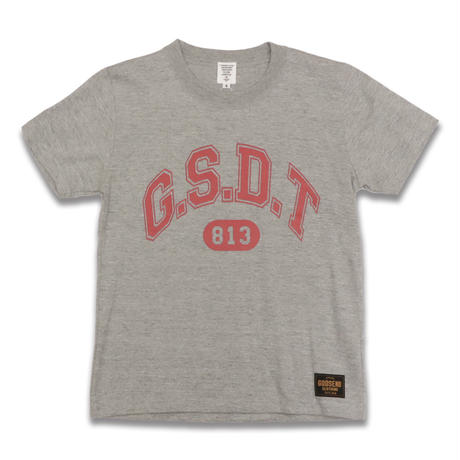 G.S.D.T  813  Tee  トップグレー