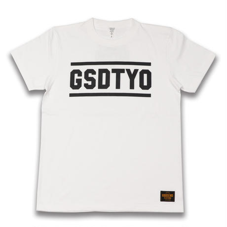 GSDTYO  TEE  GSDTYO  Tシャツ  ホワイト  大人サイズ