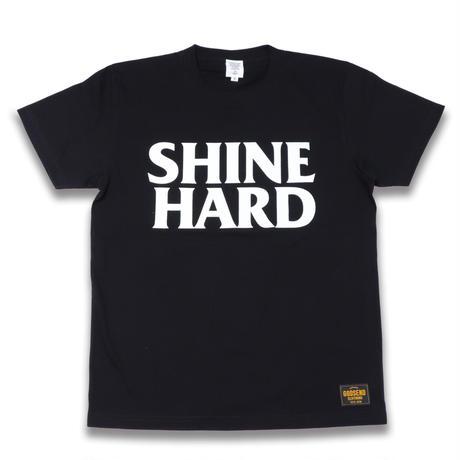 SHINE  HARD  TEE  シャインハード  Tシャツ  ブラック  大人サイズ
