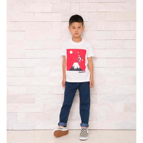 スケボー富士 T-Shirts WHITE