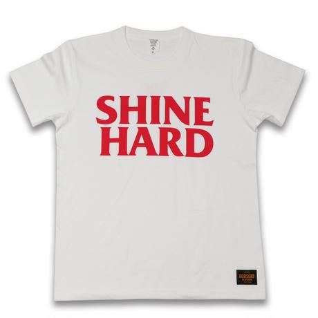 SHINE  HARD  TEE  シャインハード  Tシャツ  ホワイト  大人サイズ