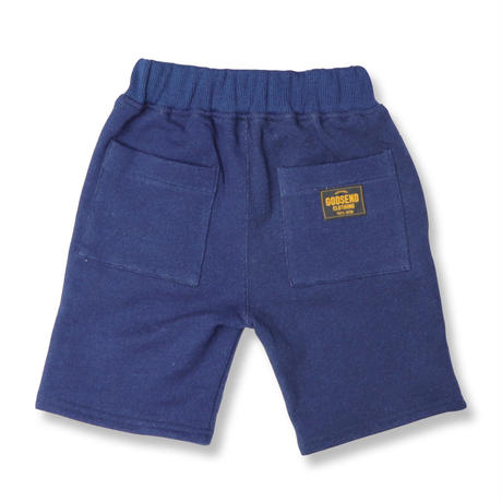 INDIGO  SWEAT  SHORT  PANTS  GSD04