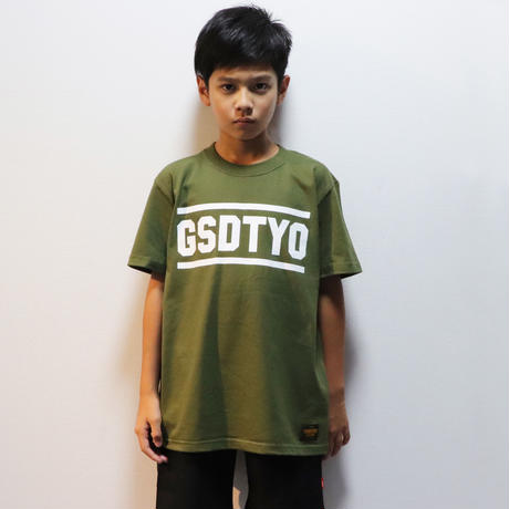 GSDTYO  TEE  GSDTYO  Tシャツ  カーキ
