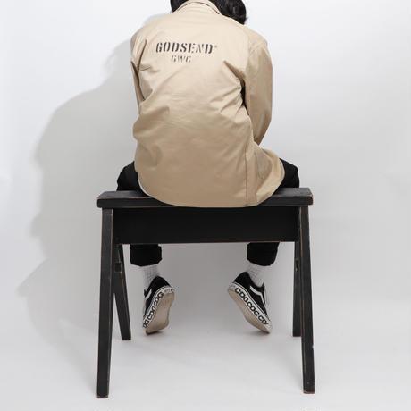 T/C    COVERALL  JACKET BEIGE  T/Cカバーオール  ジャケット  ベージュ