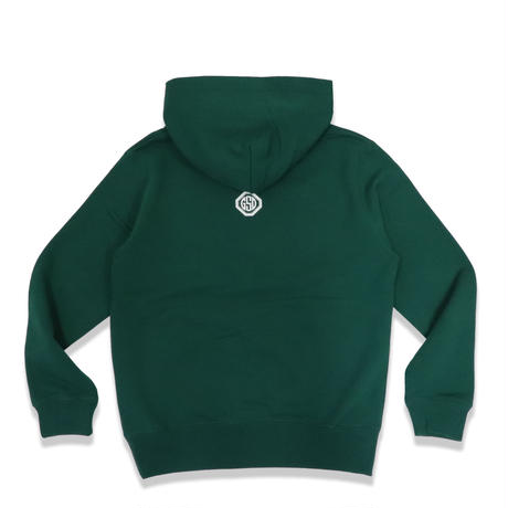 ARC COLLEGE  LOGO  HOODIE  D/GREEN  アーチカレッジロゴ  パーカー  ダークグリーン