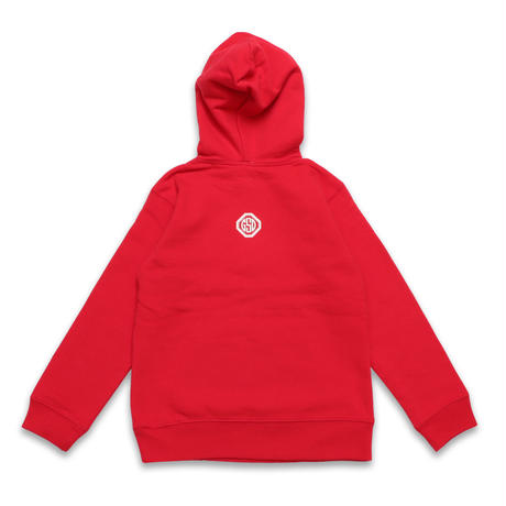 PAISLEY  ARCLOGO  HOODIE  RED  ペイズリー  アーチロゴ  パーカー  レッド