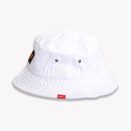 COTTON  TWILL  BUCKET  HAT  WHITE  コットンツイル  バケットハット  ホワイト