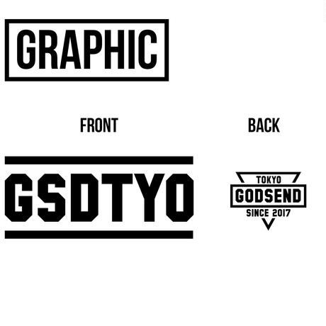 GSDTYO  TEE  GSDTYO  Tシャツ  オレンジ