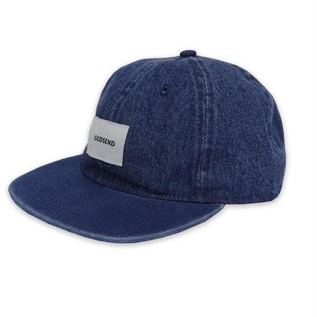 6PANEL  INDIGO  CAP  6パネル  インディゴ  キャップ