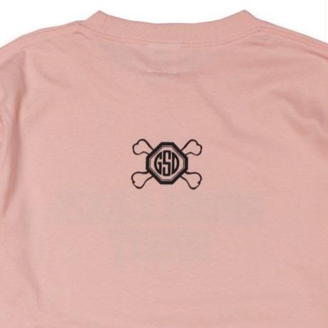 CROSS  BONE  L/S TEE クロスボーン  ロンTEE  ピンク