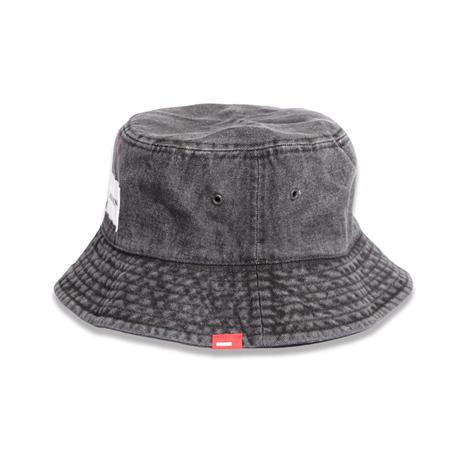 DENIM  BUCKET  HAT  BLACK  デニム  バケットハット  ブラック