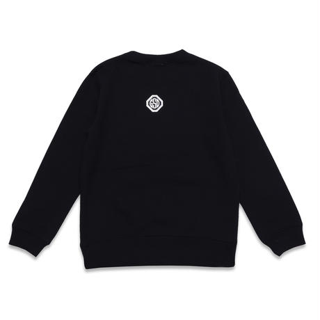ARC  BAR  C/N  SWEAT  SHIRT  BLACK  アーチバー  スウェットシャツ  ブラック