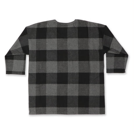 "BUFFALO  CHECK  ""DABO""  SHIRT  バッファローチェック  ダボシャツ  BLACK"