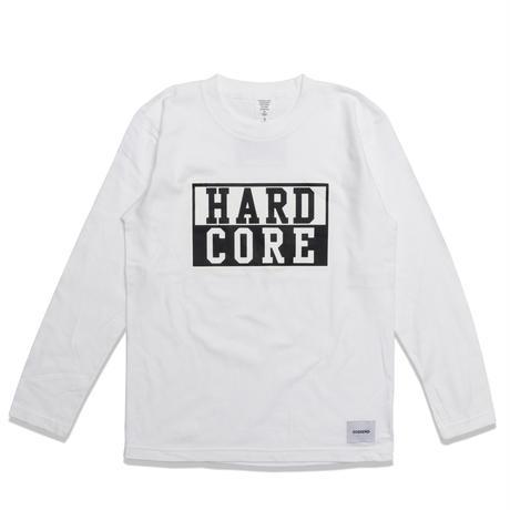 HARD  CORE  L/S TEE ハードコア  ロンTEE  ホワイト