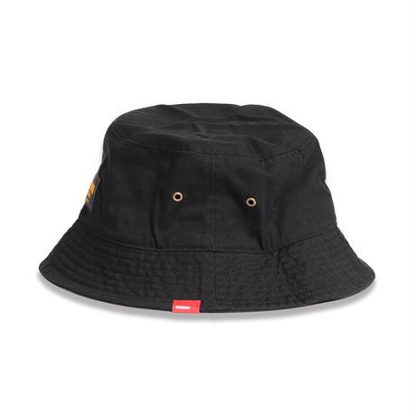 COTTON  TWILL  BUCKET  HAT  BLACK  コットンツイル  バケットハット  ブラック