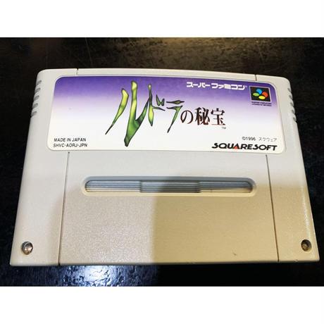 【スーパーファミコン】ルドラの秘宝(中古ゲームソフト)