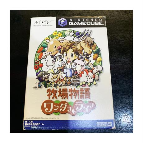 【ゲームキューブ】牧場物語 -ワンダフルライフ-(中古ゲームソフト)