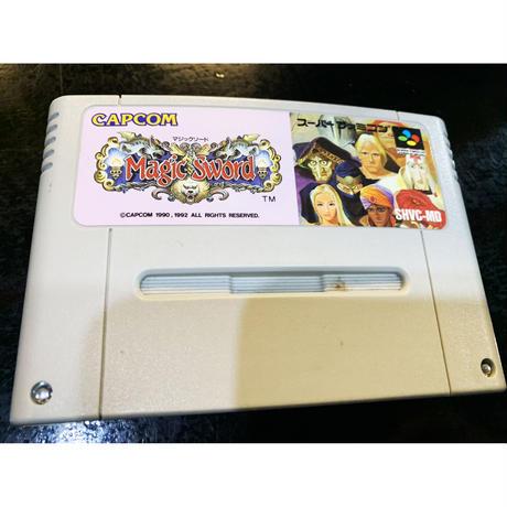 【スーパーファミコン】マジックソード(中古ゲームソフト)