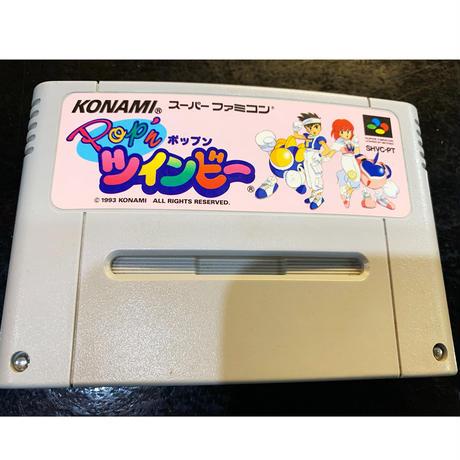 【スーパーファミコン】ポップンツインビー(中古ゲームソフト)
