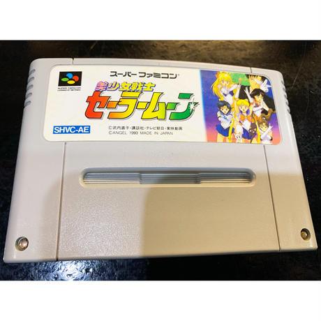 【スーパーファミコン】美少女戦士セーラームーンR(中古ゲームソフト)
