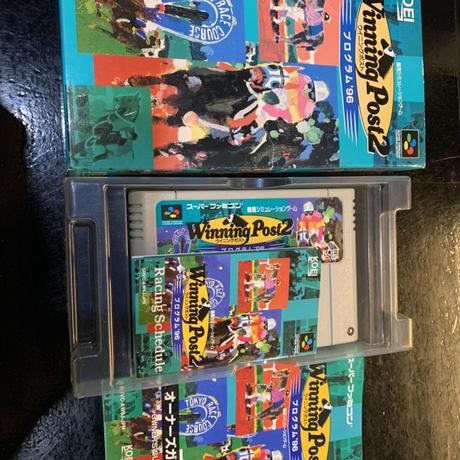【スーパーファミコン】ウイニングポスト2 プログラム'96(中古ゲームソフト)
