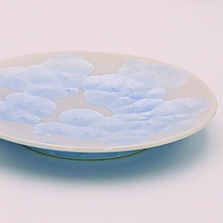 青結晶 4寸皿