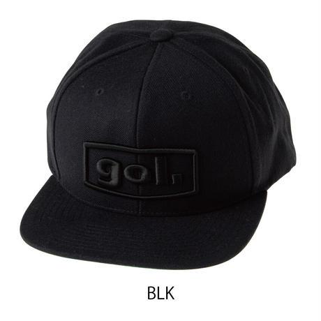 フラットキャップ<3D LOGO>(G183-639)