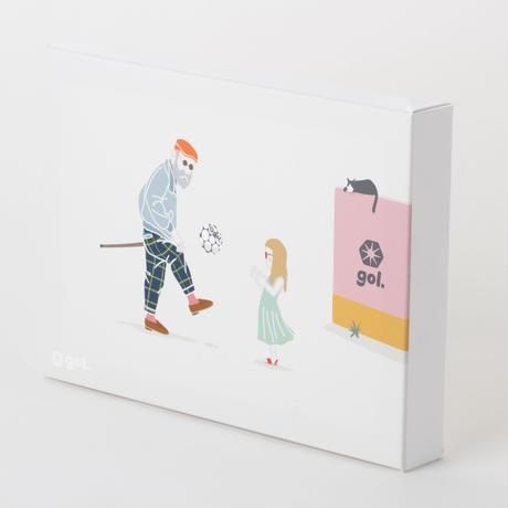 [限定クリアファイルプレゼント]キャンパスパネル<Vovô e filhos>(G186-642)TYPE A