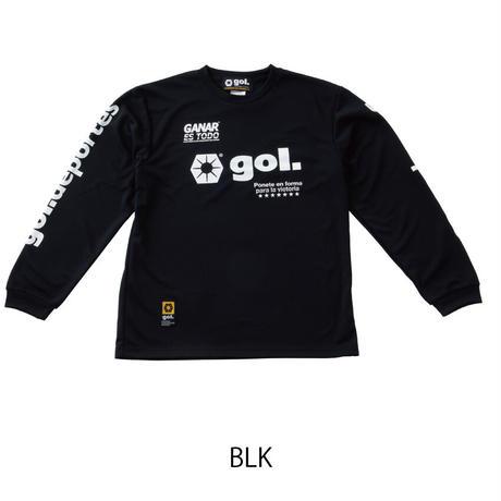 Jr.長袖ドライシャツ<LOGOS>(G191-822J)