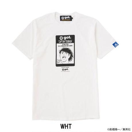 [キャプテン翼コラボ]キャプテン翼 コラボTシャツ「日向」(G522-222)