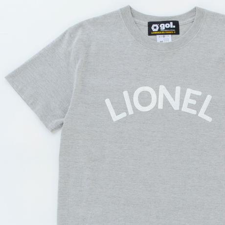 [サマーセール50%OFF]刺繍プリントTシャツ<LIONEL>(G992-716)