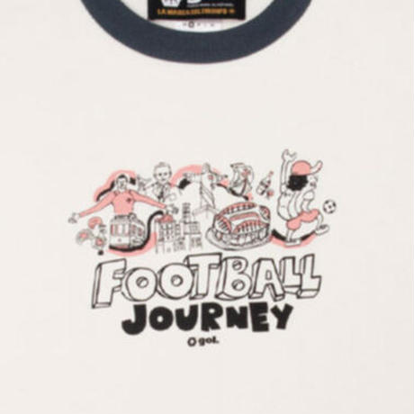 リンガーTシャツ<Boa viagem>(G192-789)